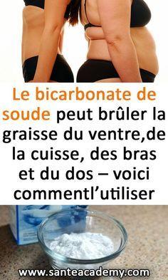 Le bicarbonate de soude peut brûler la graisse du ventre