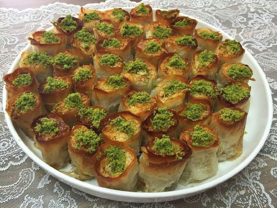 باقلوای کادایف با یوفکا Recipe Baklava Recipes Brussel Sprout
