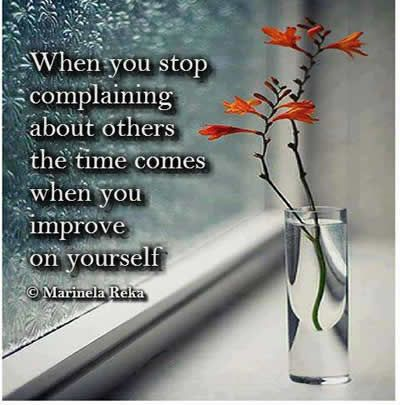 Awareness Quotes ,complain, Inspirational Quotes, Pictures & Motivational Thoughts