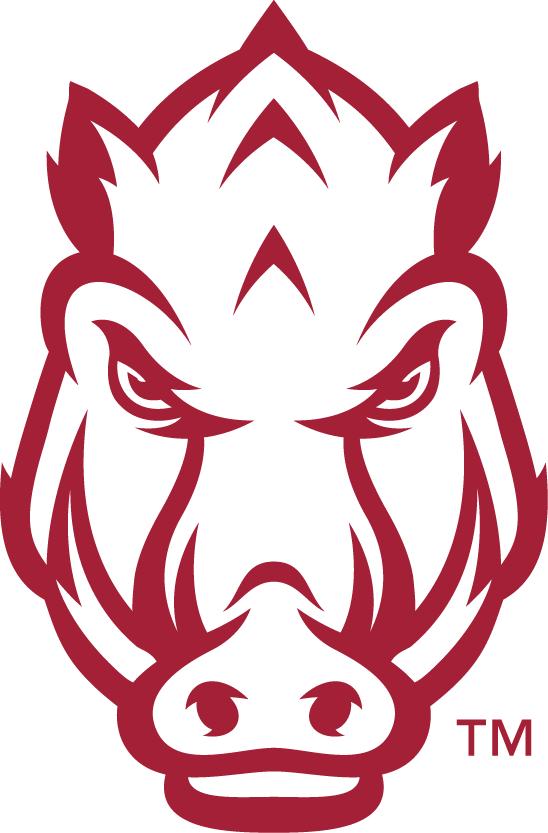 arkansas razorbacks secondary logo 2014 silhouette pinterest rh pinterest com au arkansas razorback football clipart Graphic Arkansas Razorback Art