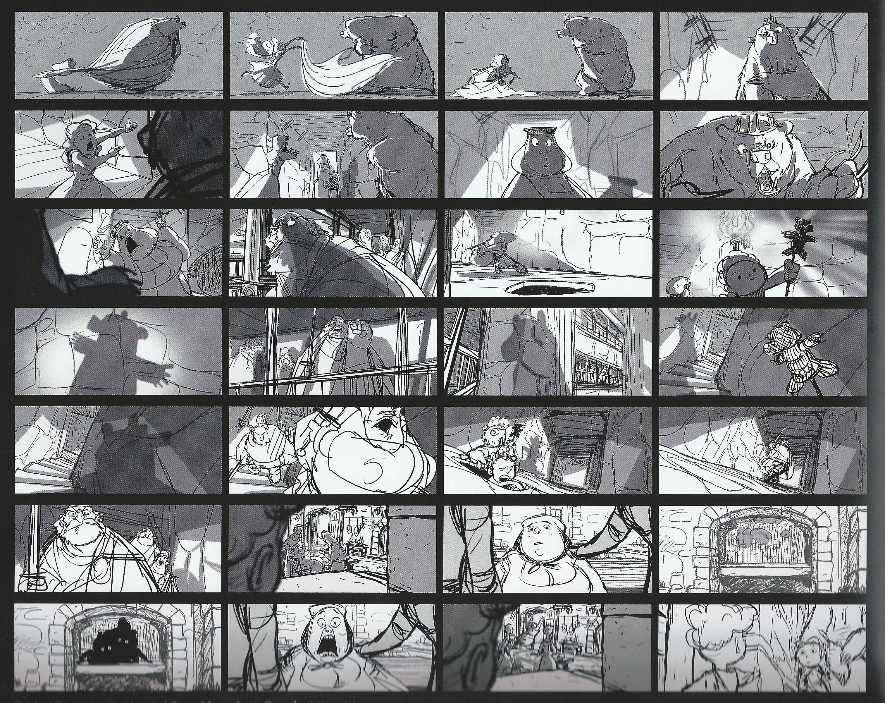 Storyboards Disney  The Art Of Brave Storyboards  Brave Photo