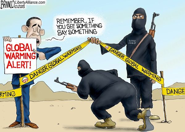 WRONG FOCUS   May/27/15 Cartoon by A.F.Branco - On High Alert