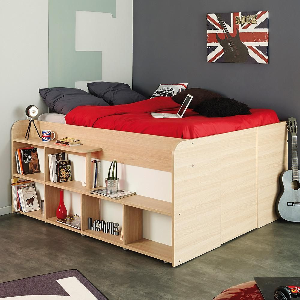 Parisot Space Up Double Storage Bed Bed Frame With Storage Bed