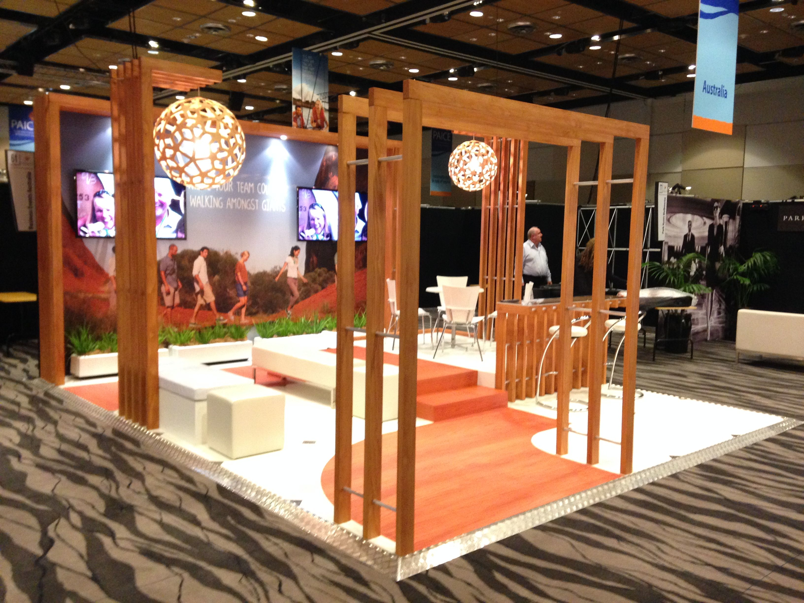 Exhibition Stand Builders New Zealand : Tourism australia stand designed by peek exhibition for