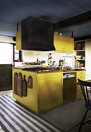 Diseño de cocinas amarillas http://kansei-estudiodecocinas.blogspot ...