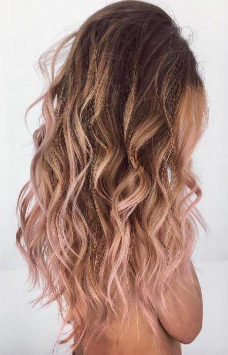 Top Rose Gold Haarfarben 2019 #copperbalayage