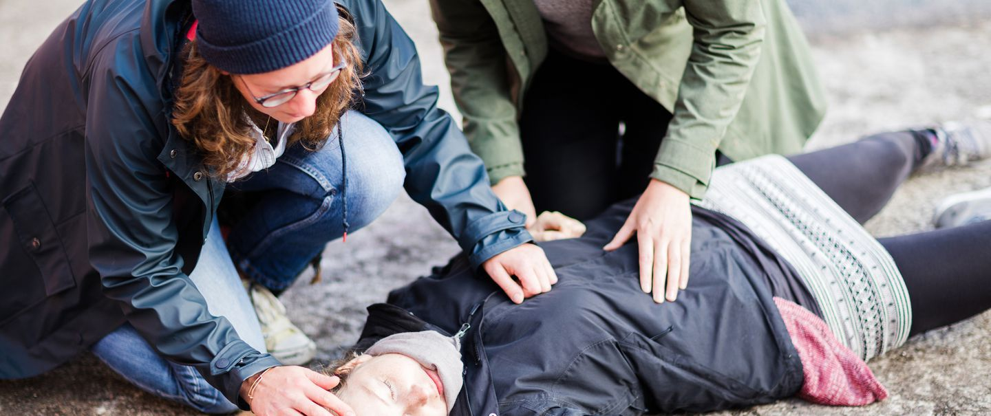 First aid classes by Monsters and Critics Living on Need