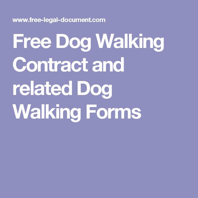 pet sitting forms free