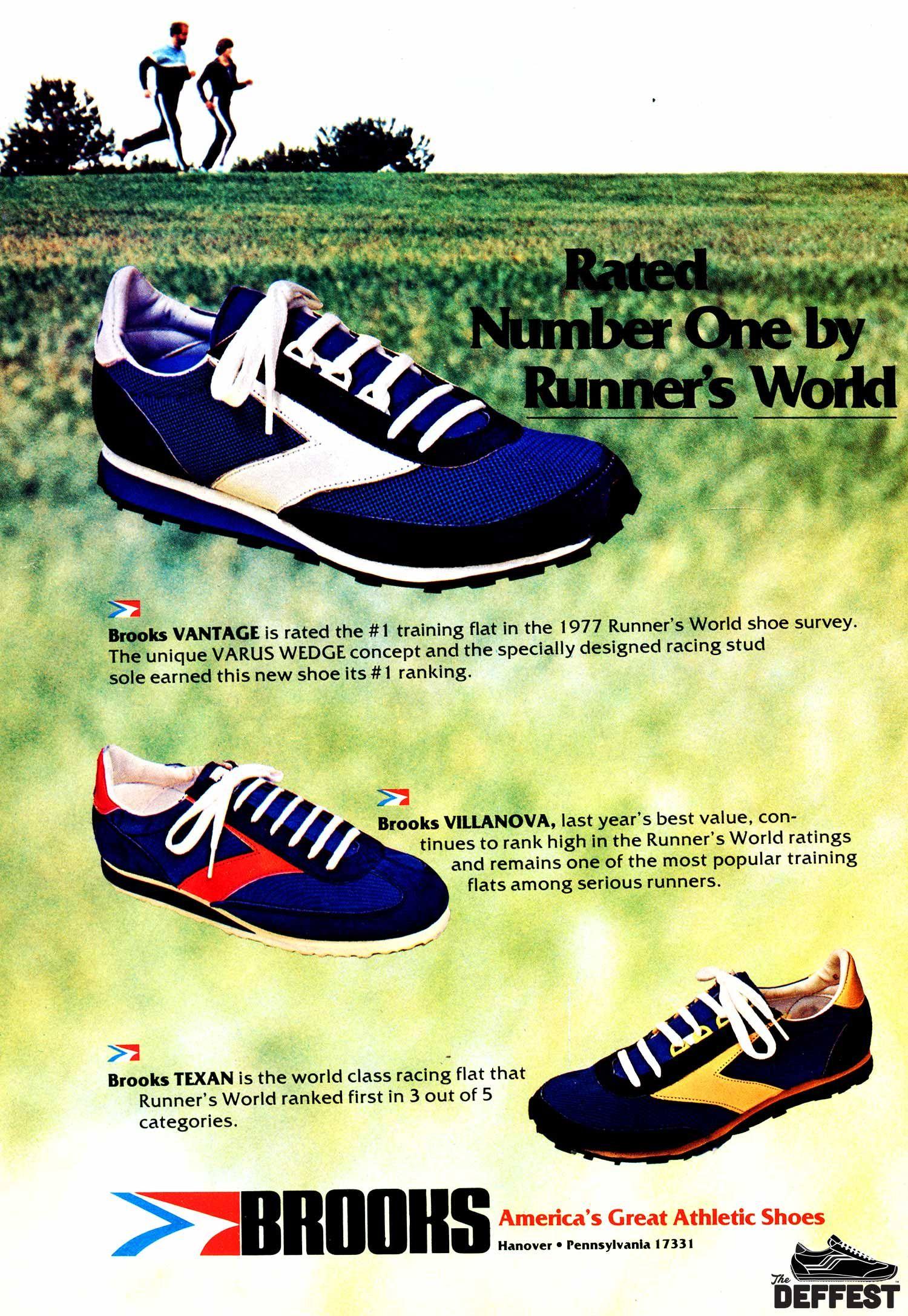 Texan 1978 vintage sneaker ad