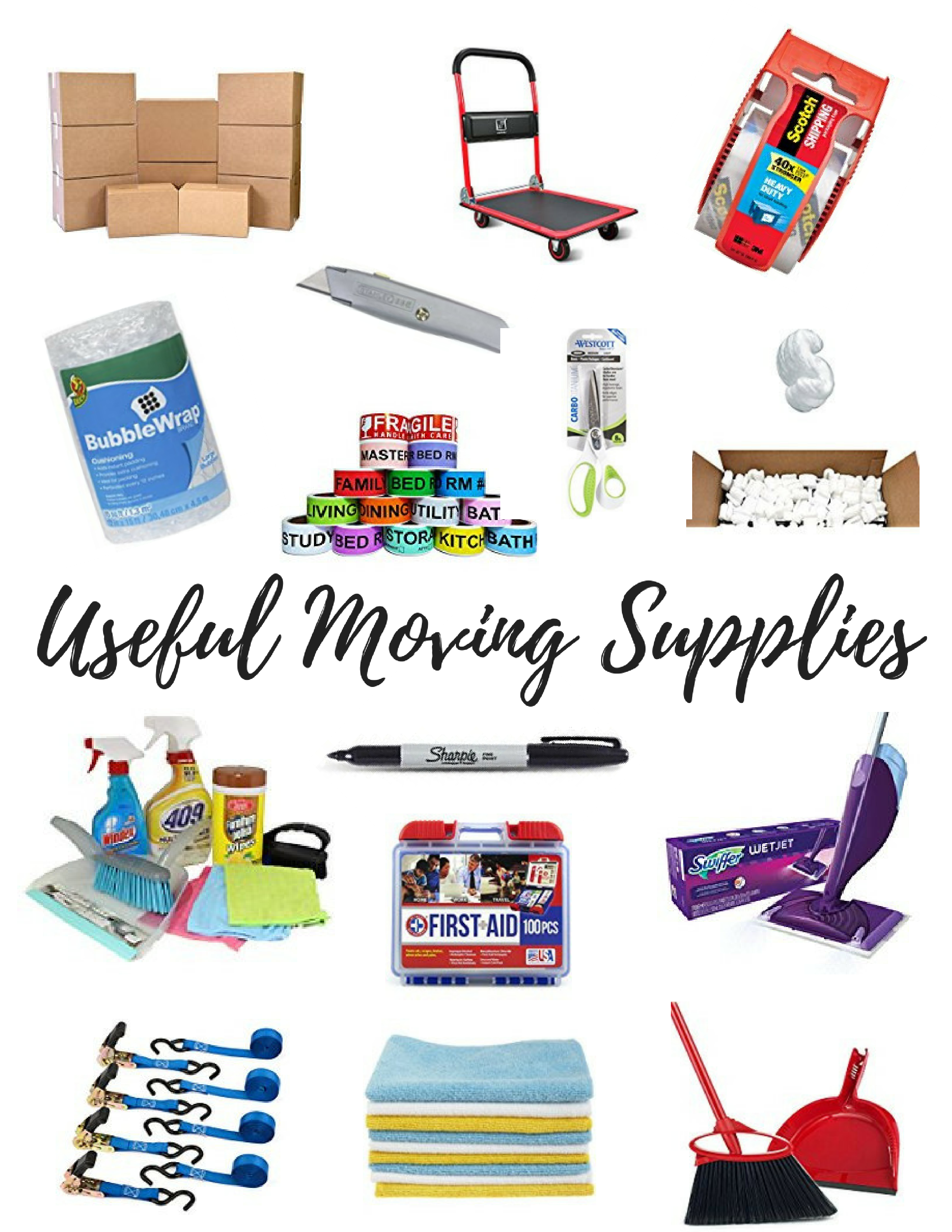 Packing Moving Supplies Checklist Be Sure To Download And Print