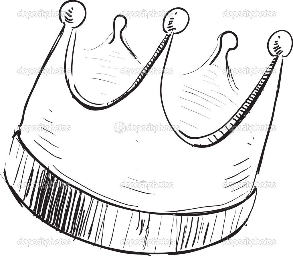 Simple crown icon — Stock Vector © Chuhail 9007865 Free
