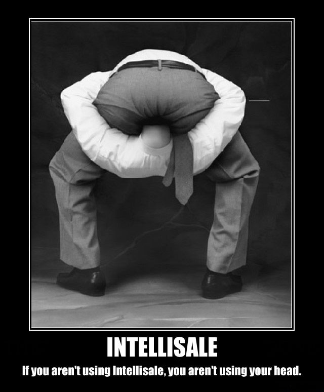 Intellisale - If you aren't using Intellisale, you aren't using your head.