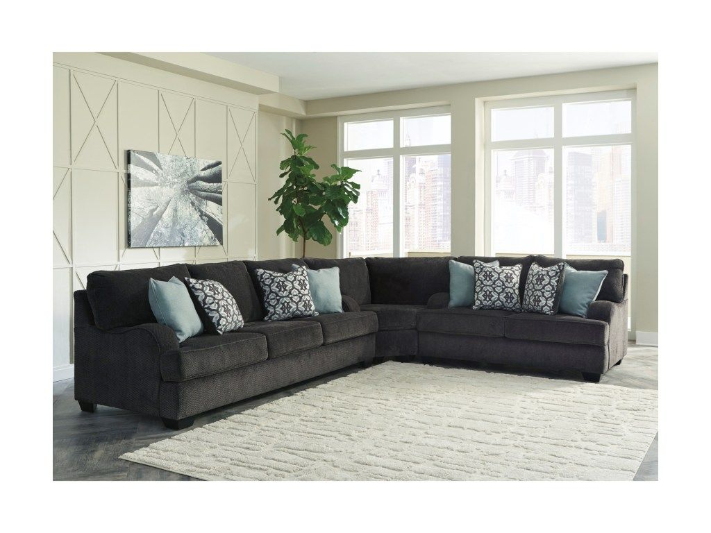 Charenton Sectional Sofa With English Arms By Benchcraft