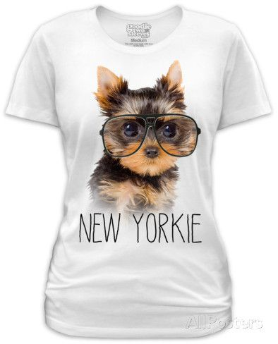 Juniors: New Yorkie T-Shirts en AllPosters.es