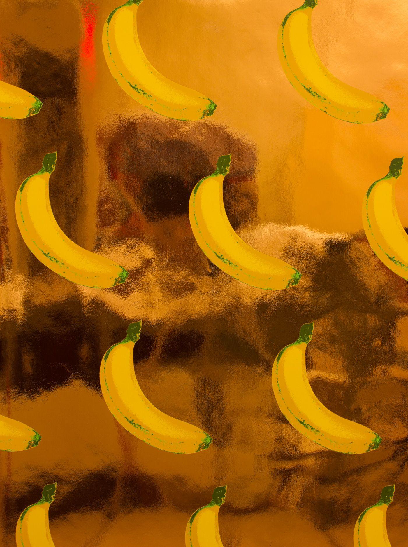 BANANAS! Flavor Paper Tasty Handscreened and