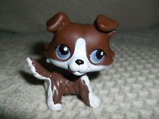 Details About Littlest Pet Shop Dog Rare Collie Lps Toys Puppy