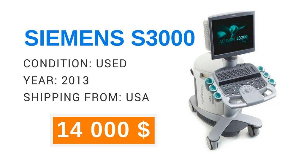 For sale #ultrasound machine SIEMENS S3000 #ecografía #sonographer ...