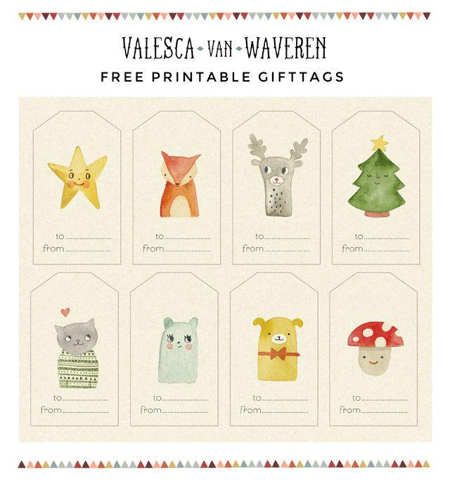pdf kostenlose geschenkanh nger drucken free printable gift tags weihnachten ideen und. Black Bedroom Furniture Sets. Home Design Ideas