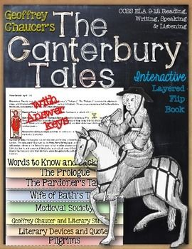 Canterbury tales english literature book