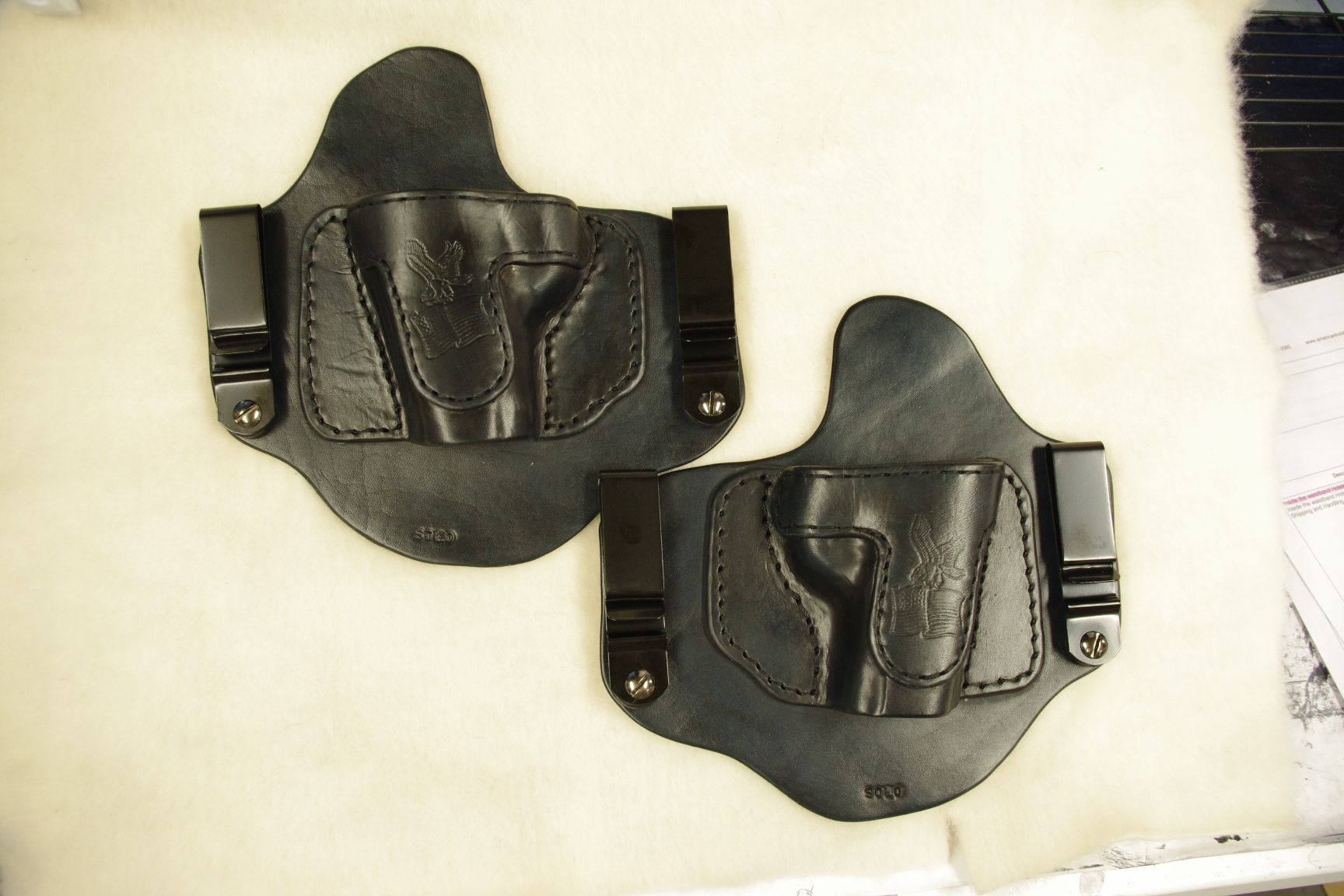 Kimber Solo Right and Left Hand InvisiTuck Holster