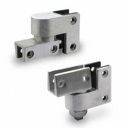 Jacknob 7853 Pivot Hinge Set 1 2 Glass Hinges Hinges Commercial Door Hardware