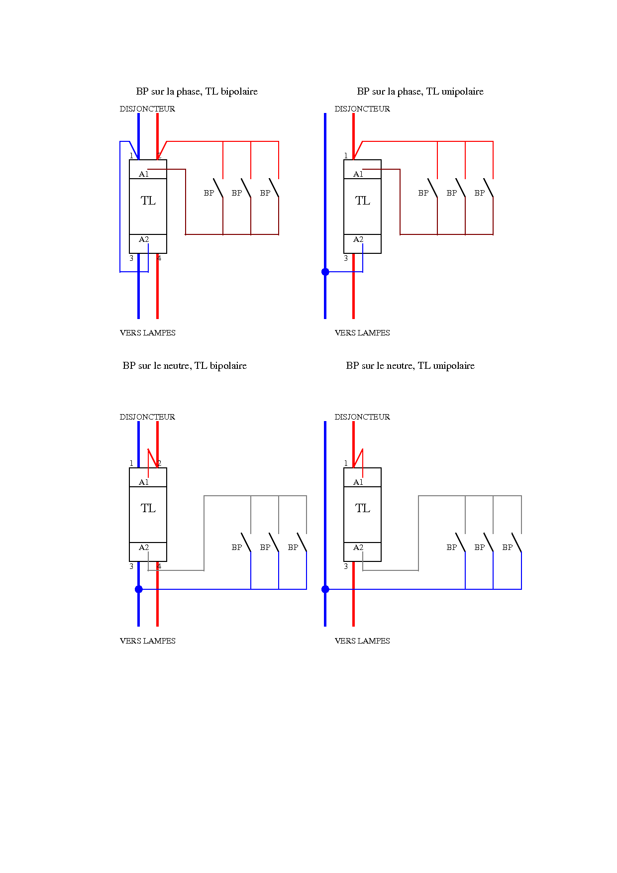 Shema Cablage Telerupteur Merlin Gerin Mu Forum Electricite Systeme D Electricite Schema Electrique Electricite Generale
