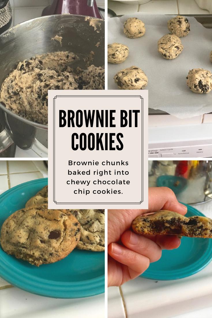 Brownie Bit Cookies Wow Recipe Food Cheesecake Recipes