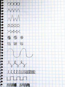 Ejercicios para mejorar la letra aprendizaje fiorella handwriting cursive handwriting y - Como mejorar la caligrafia ...