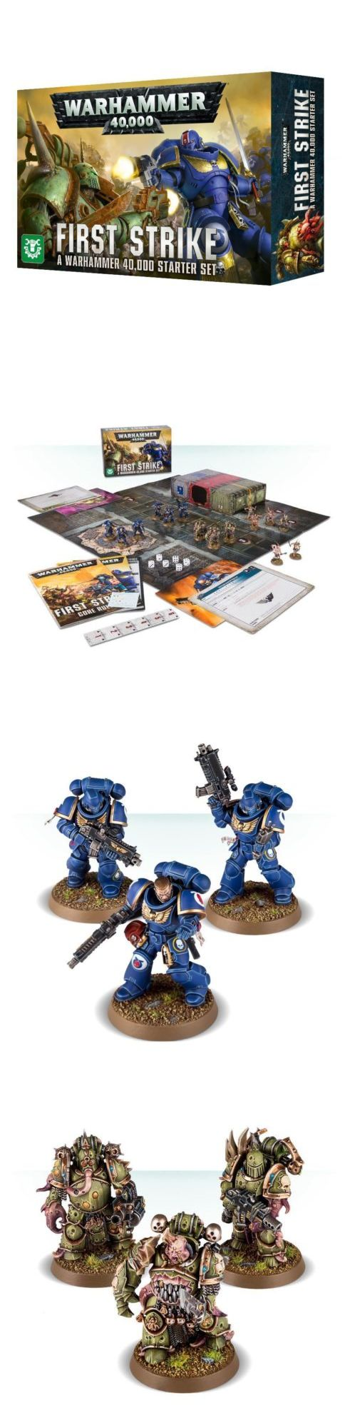 40K Starter Sets 183472 First Strike A Warhammer 40,000
