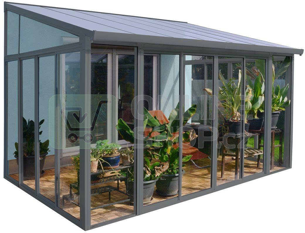 Palram Torino 3 X 4 25 Seda Zimni Zahrada Onlineshop Cz Patio Enclosures Patio Outdoor Rooms
