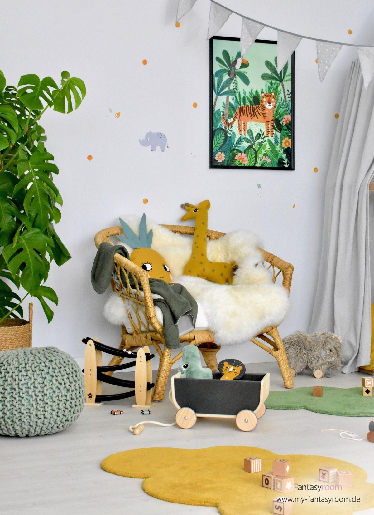 Für Den Dschungellook Im Kinderzimmer Die Zuckersüßen Tierposter