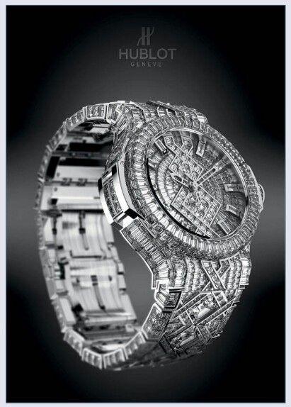 The 5 Million Dollars Watch Con Imagenes Relojes Hublot Relojes De Lujo Para Hombres Relojes De Cuero