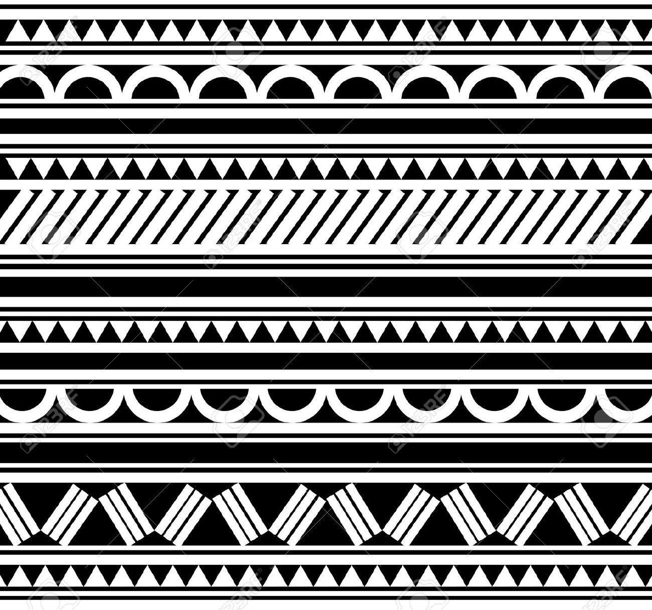 Bracelet Polynésien Tatouage pour indigenous patterns - google search | tatoo designs | pinterest