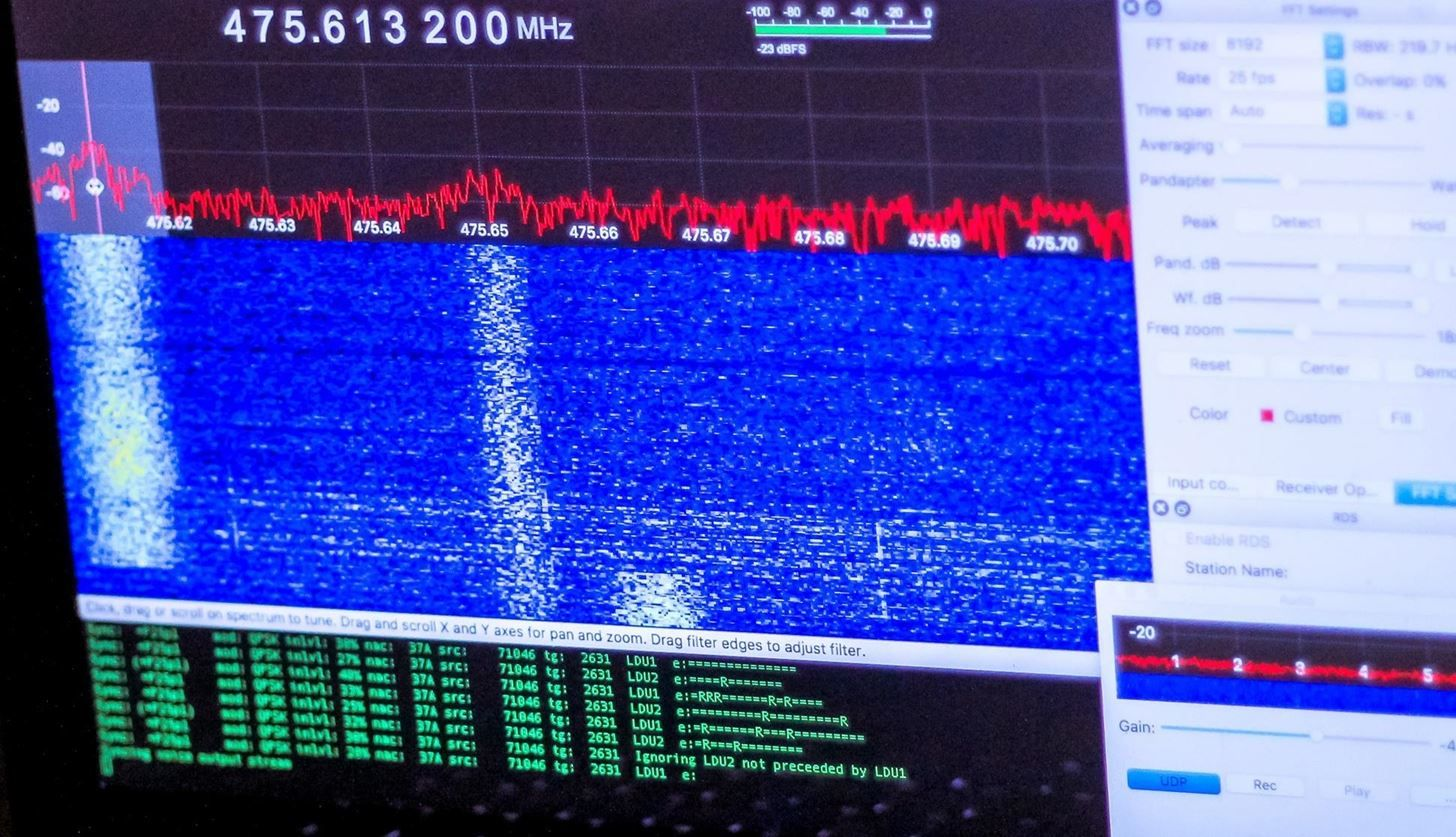 How To Hack Radio Frequencies Building A Radio Listening Station To Decode Digital Audio Police Dispatches Listening Station Digital Audio Radio Frequency