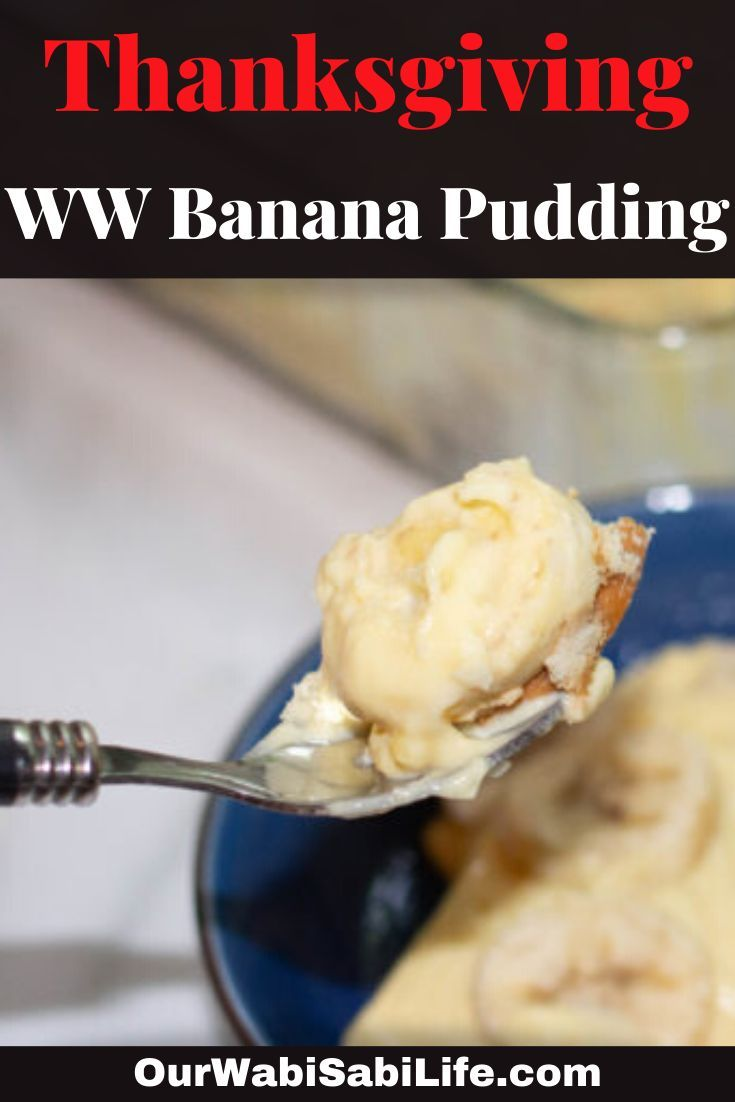 If you are looking for a low points ww banana pudding