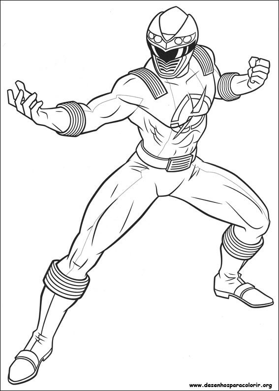 Power Rangers Coloring Page Birthday Ideas Pinterest Power
