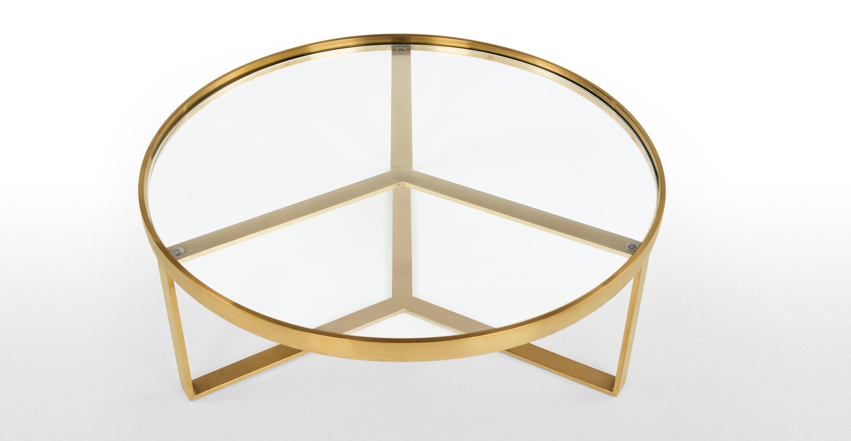 Innenarchitektur Schöner Wohnen Couchtisch Sammlung Von Aula Couchtisch, Messing | Madereview. Schöner