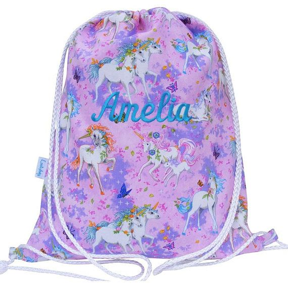 Swim Bag Drawstring Backpack