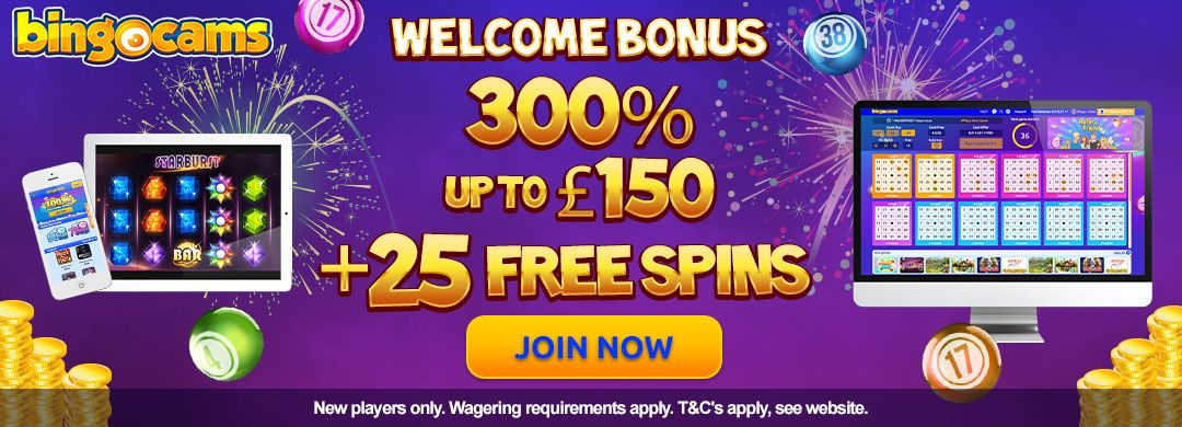 Bingocams Free Spins Bonus Offer For New Players Bingo Bonus