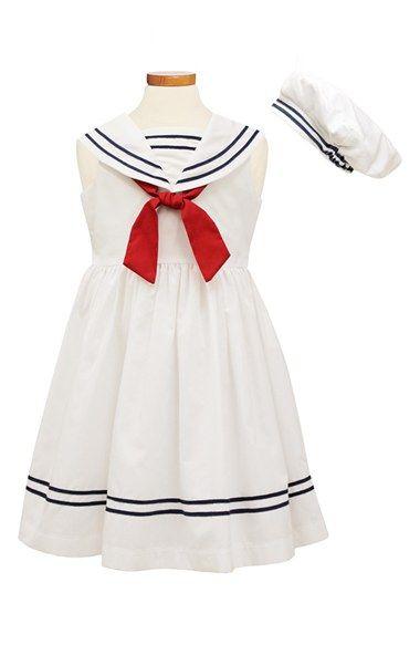 Sorbet Sailor Dress   Hat (Toddler Girls   Little Girls) available at   Nordstrom bf633b52f2a