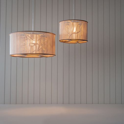 Large cage light and cage light tom raffield