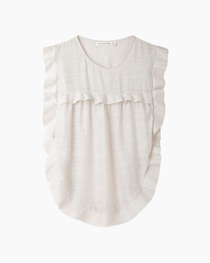 7a2baf6e6d01e5 Etoile Isabel Marant sonia ruffle top on shopstyle.com | Room for ...