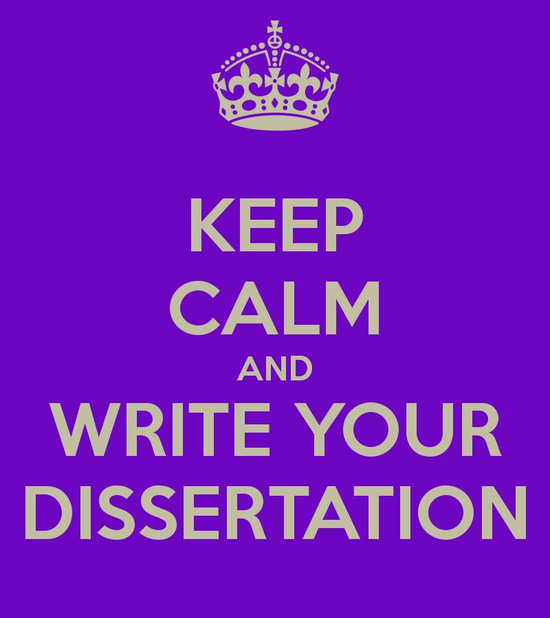 How do i write a dissertation