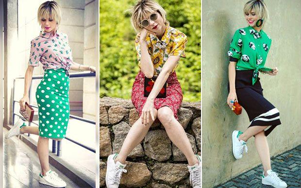 12 looks fashionistas da Lu de Totalmente Demais que provam que dá para usar tênis com tudo - Moda - CAPRICHO
