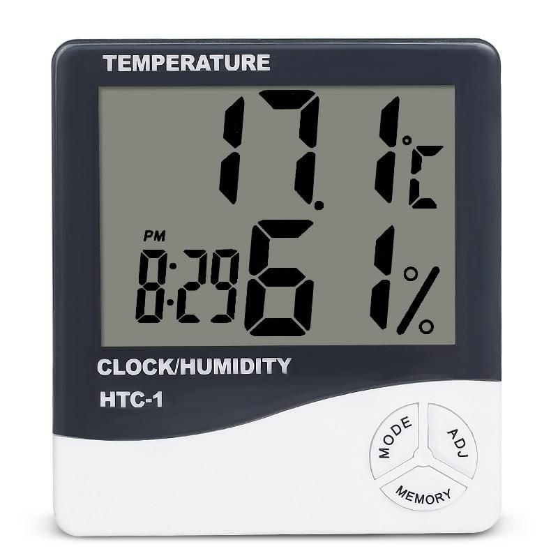 Style Standing And Wall Hanging Max Measuring Temperature 50 C 69 C Model Number Htc 1 Display Size 2 0 3 9 Inches Display Daily Accessories In 2019