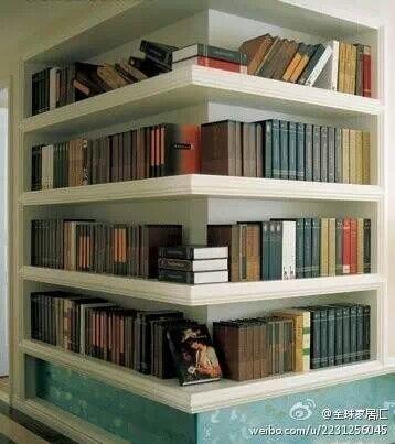 love these shelves Home Sweet Home Pinterest Estanterías