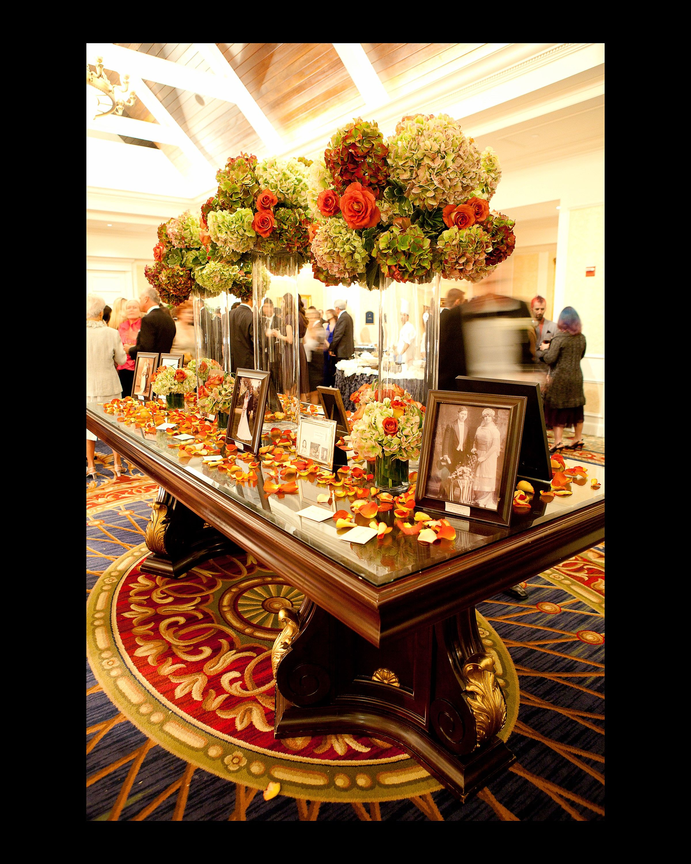 Rich Colors Play Well With The Interior Decor For This Event. Designed By  Floral Dimensions