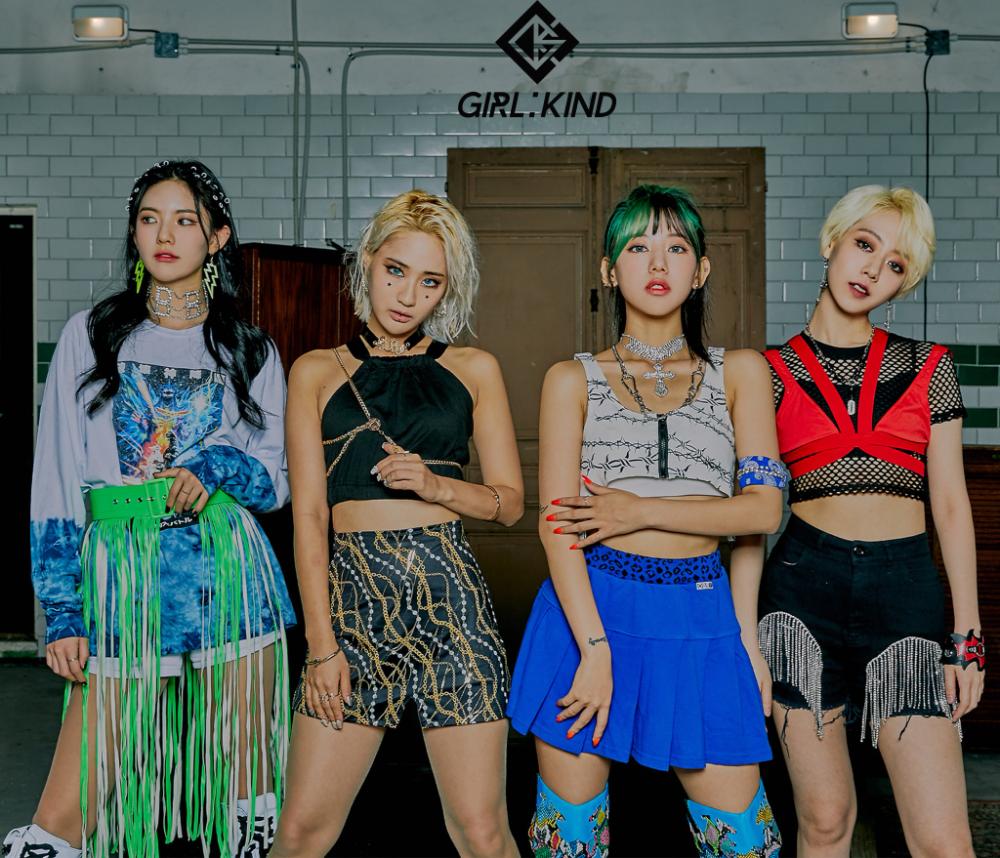 Girlkind Members Profile Updated Music Videos Kpop Girl Groups Kpop Girls