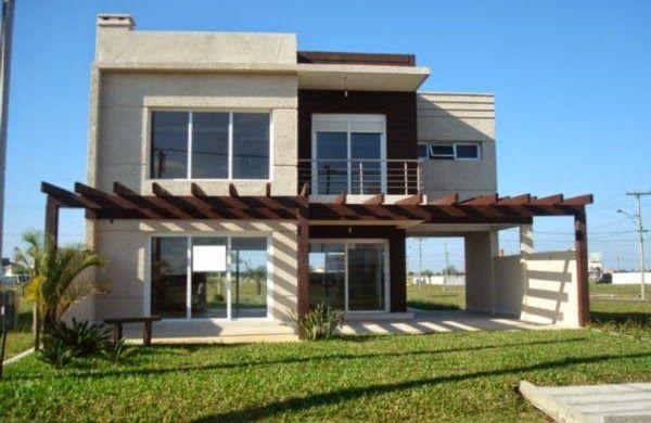 30 fachadas de casas modernas e cinza – a cor do momento!   decor ...
