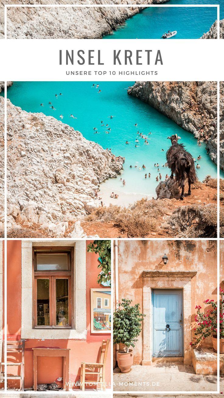 Kreta Roadtrip: Wir sind quer über die Insel des Zeus gefahren, haben karibische Strände, verschlafene Bergdörfer, historische Städte und wilde Natur entdeckt. Lass dich inspirieren von unseren persönlichen Kreta Highlights. Mit einer Ost-West-Ausdehnung